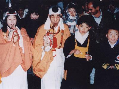 日本の奇祭の悪口まつり・滝流しの式の案内