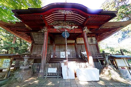 日本三大・関東最古の毘沙門天の案内