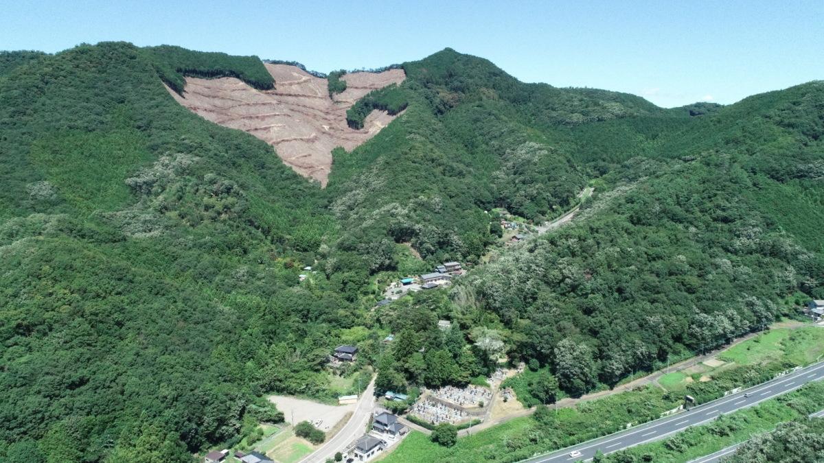 大岩山のハイキングツアー