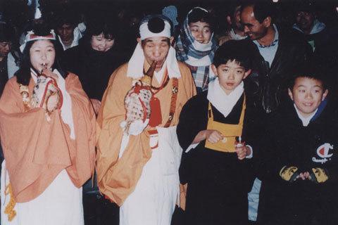 日本の奇祭・大岩山毘沙門天の悪口祭り